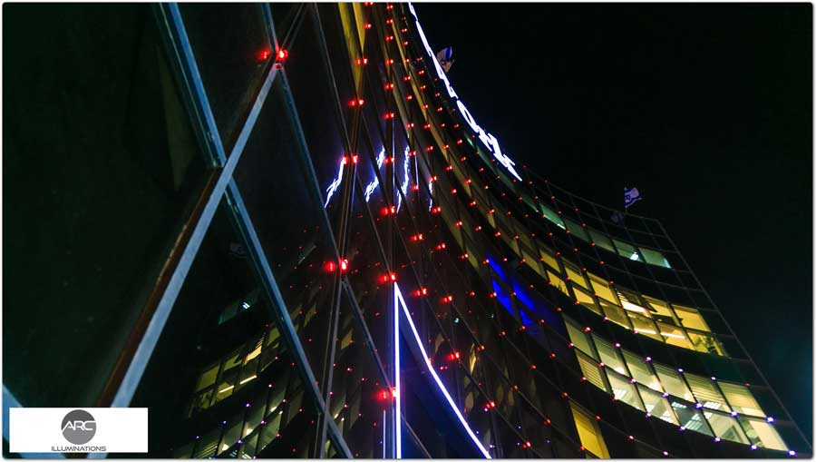 Architectural lighting a office building (1)