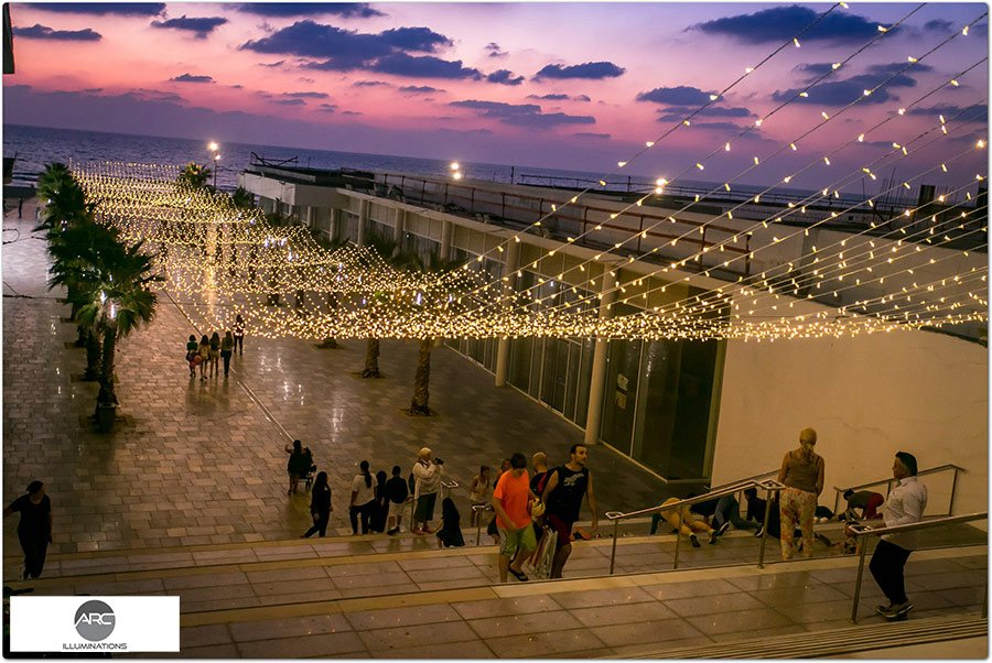 BAT YAM CITY LIGHTING DECORATIONS