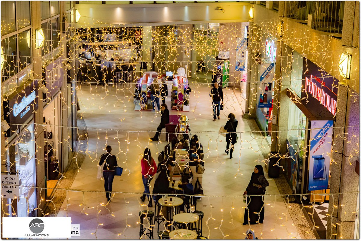 Illumination For Weizman Mall (10)