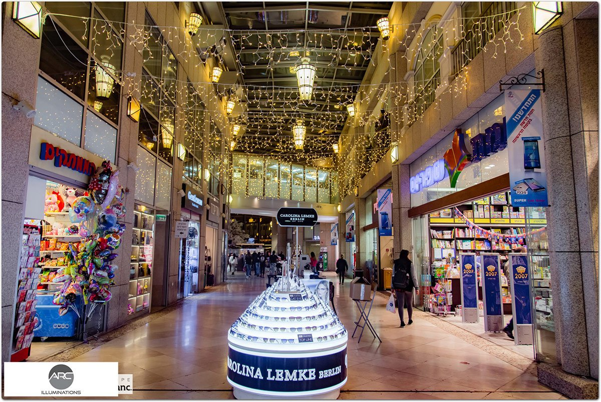 Illumination For Weizman Mall (6)