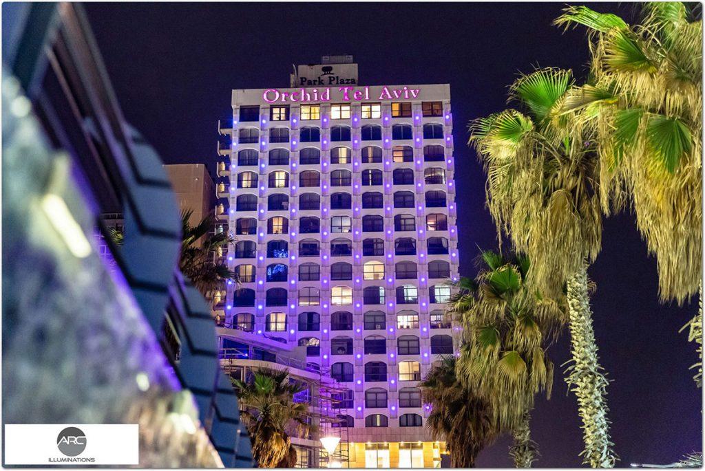 Hotels LED Pixel lighting
