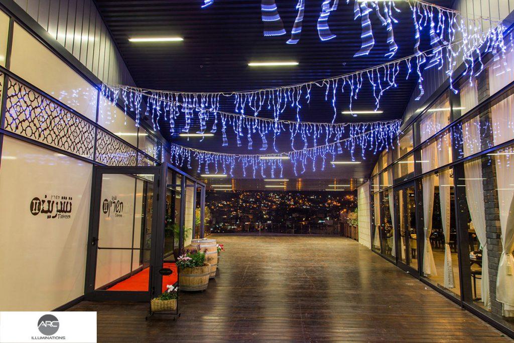 Nazareth Mall Shopping Center lighting decorations (12)