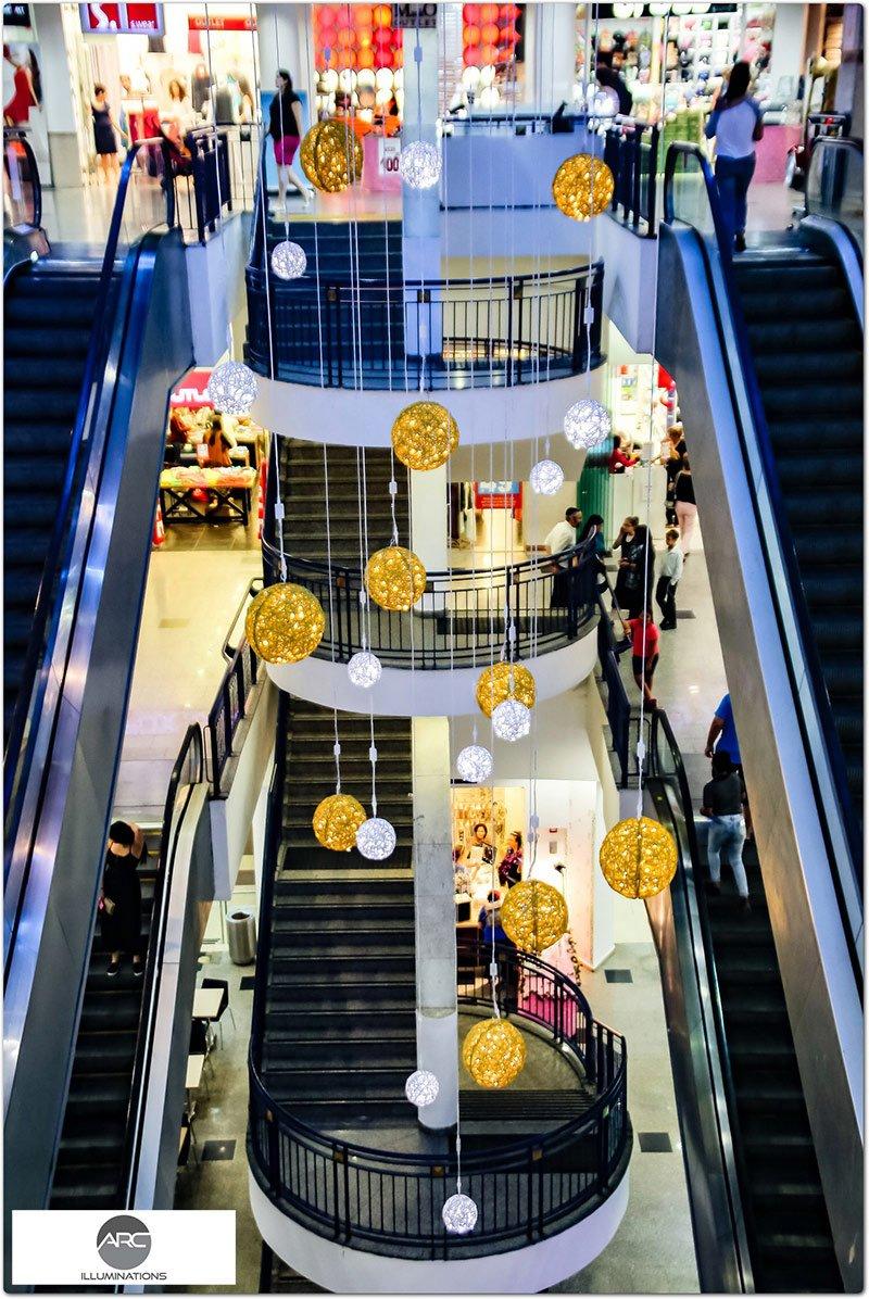 Or Yehoda Mall - Lighting Decorations (2)