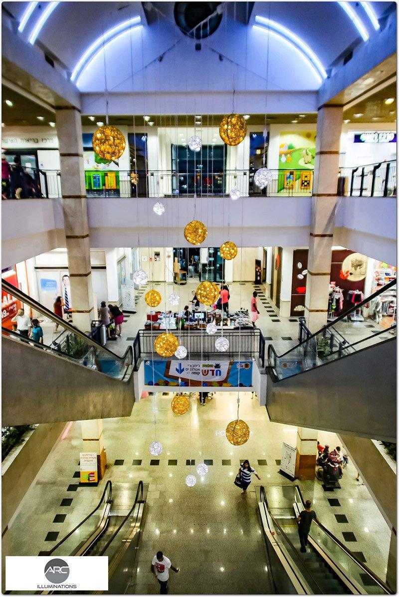 Or Yehoda Mall - Lighting Decorations (5)