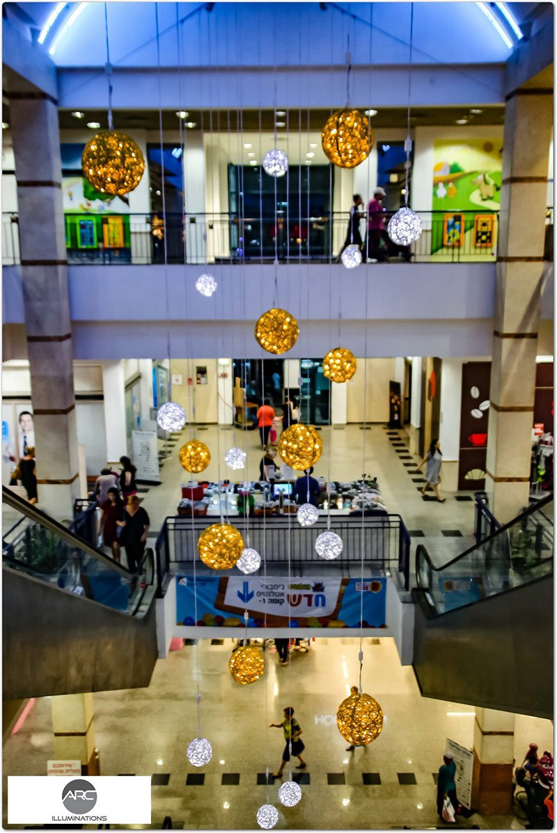 Or Yehoda Mall - Lighting Decorations (6)