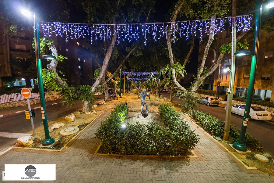 HADERA - CITY LIGHTING