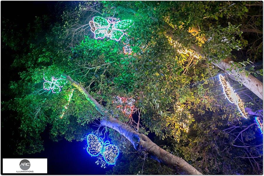 The Butterflies Tree light ornaments (2)