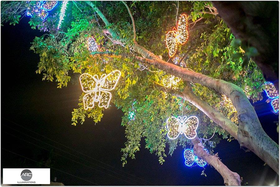The Butterflies Tree light ornaments (20)