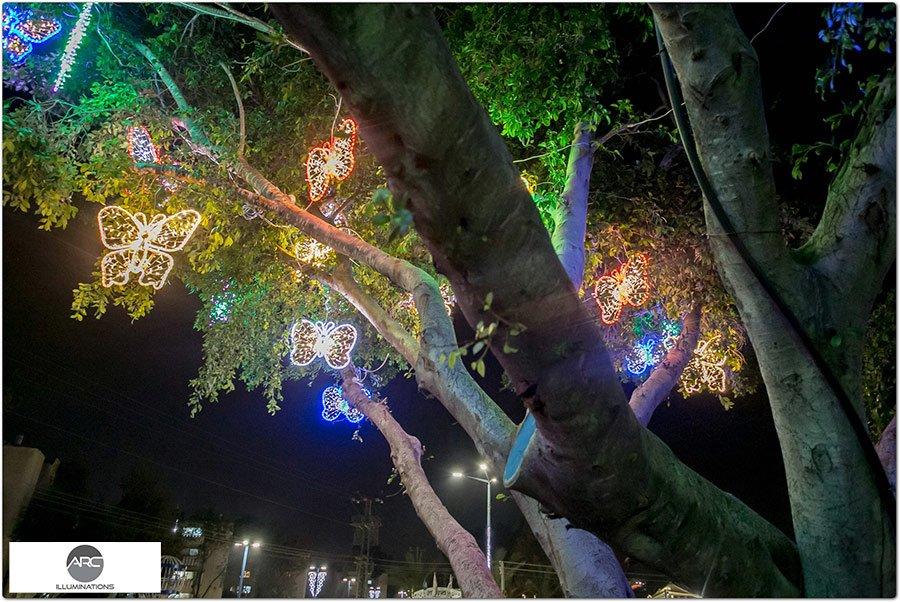 The Butterflies Tree light ornaments (23)