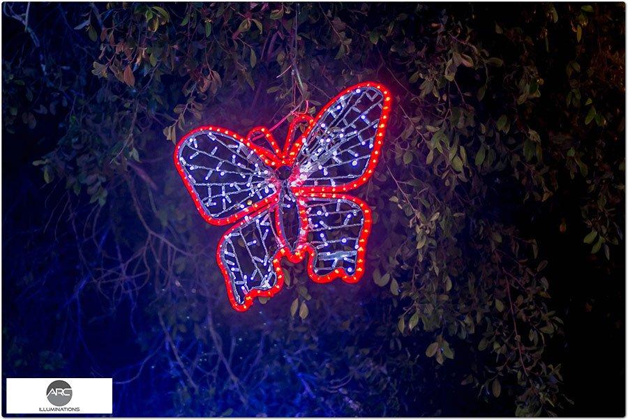 The Butterflies Tree light ornaments (25)