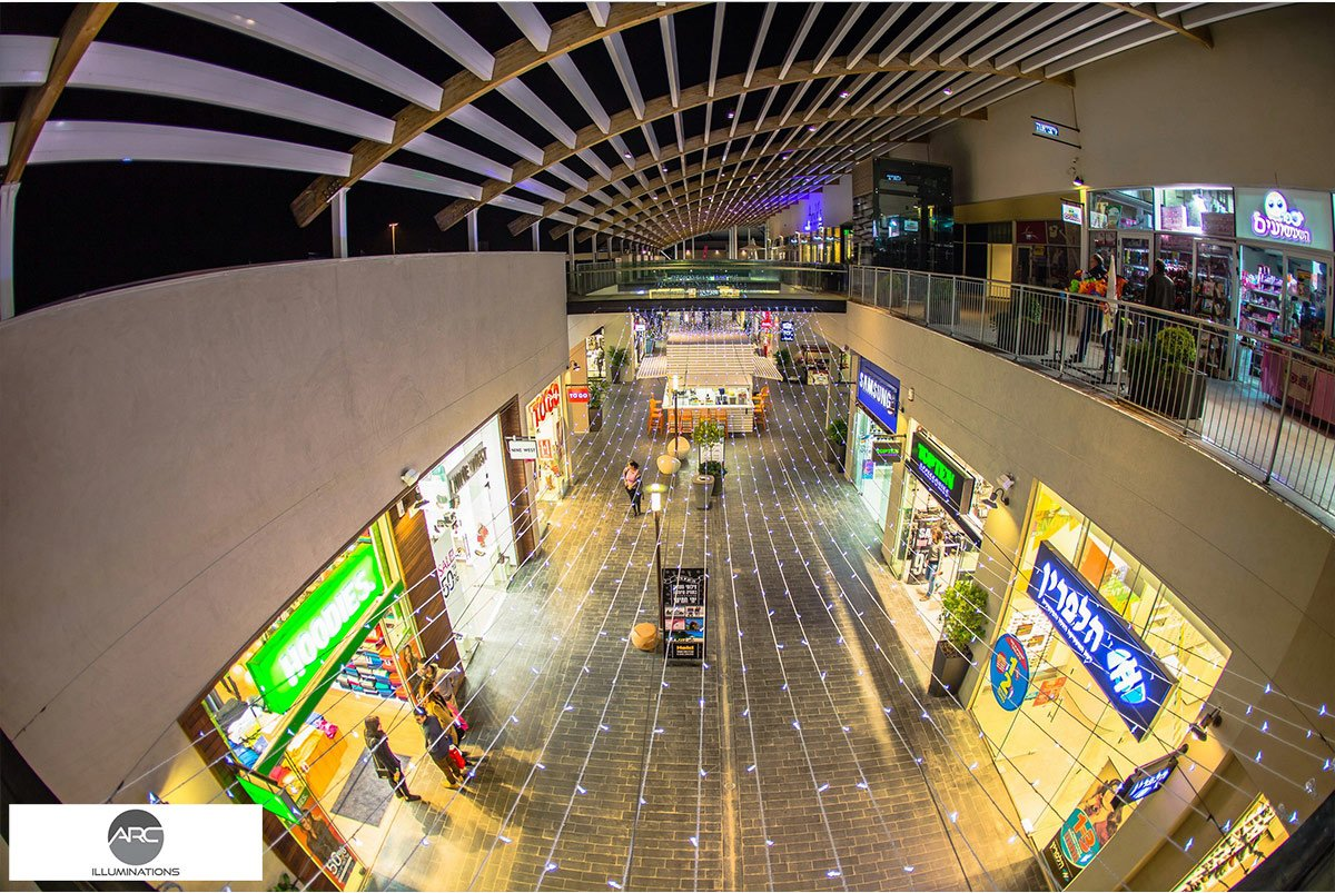 Yamat Yishai Mall - Lighting Ceiling (10)