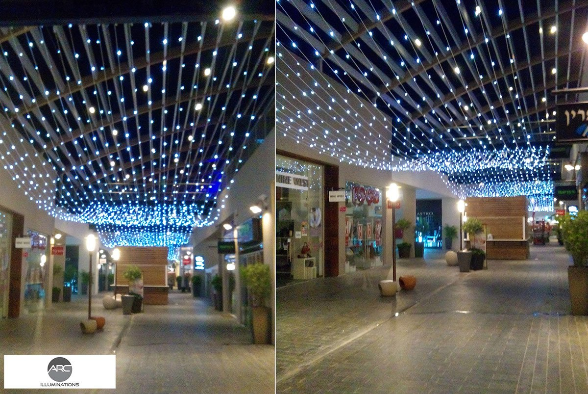 Yamat Yishai Mall - Lighting Ceiling (11)