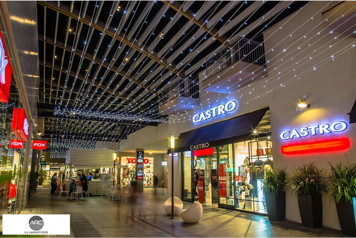 Yamat Yishai Mall - Lighting Ceiling (6)