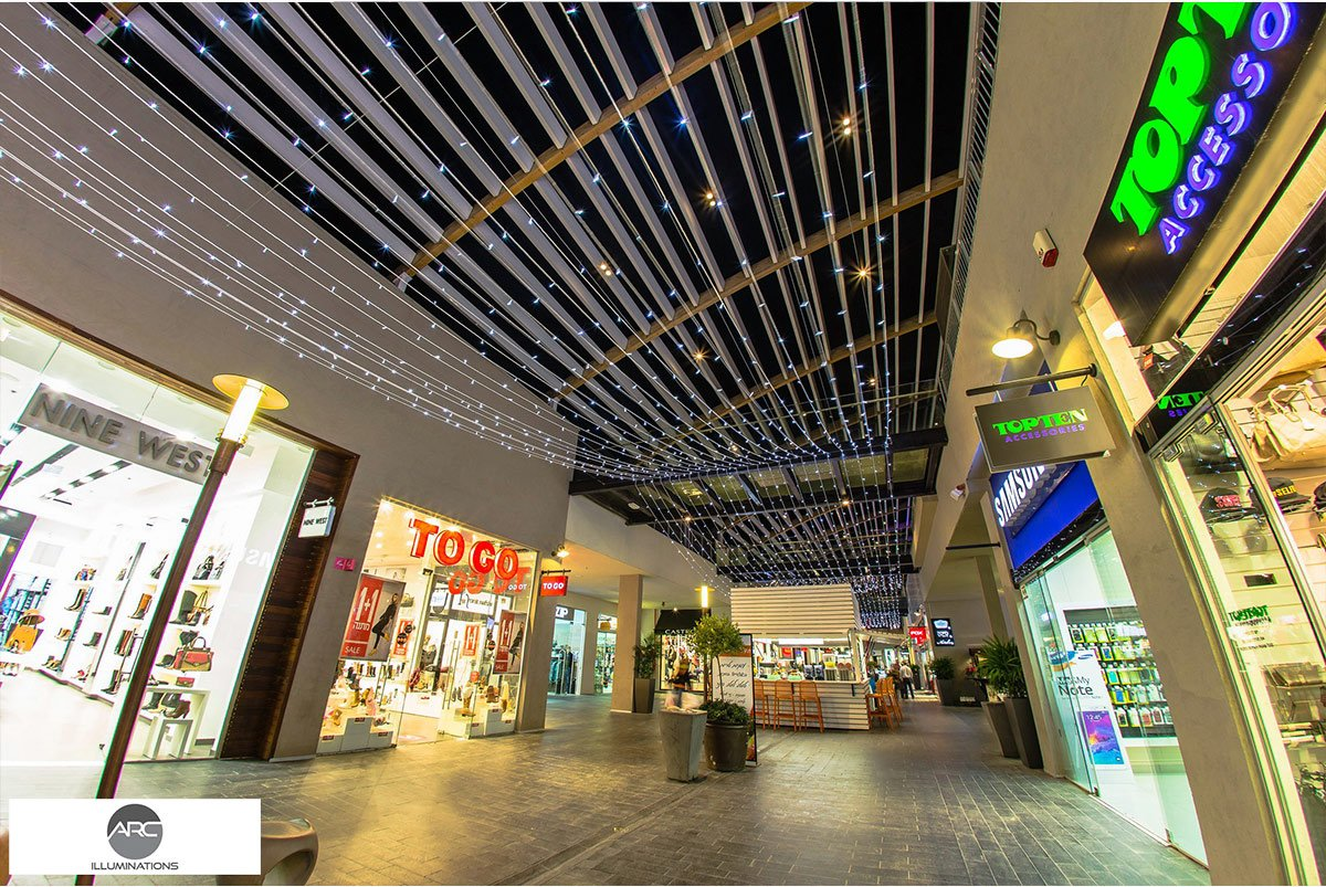 Yamat Yishai Mall - Lighting Ceiling (8)