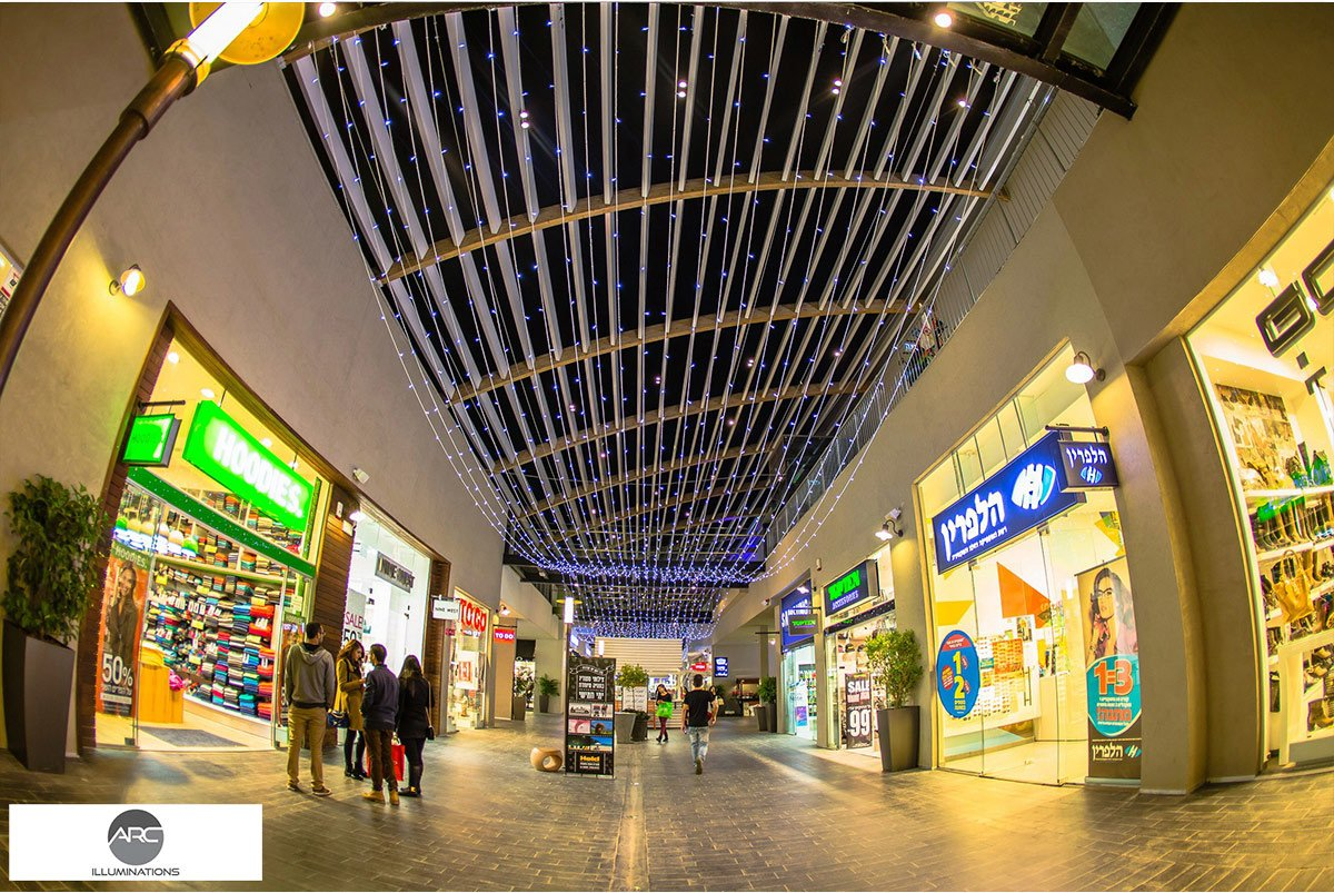 Yamat Yishai Mall - Lighting Ceiling (9)