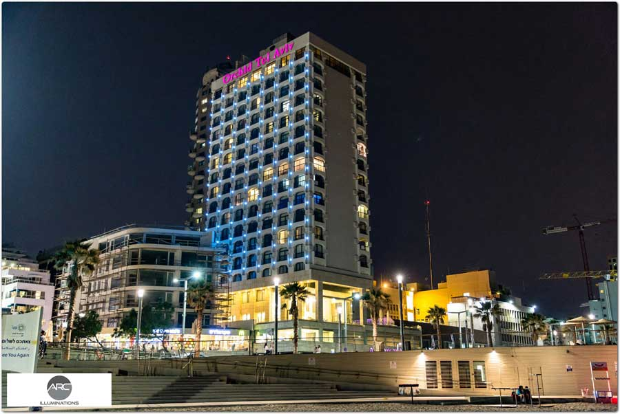 lighting Orchid Hotel TLV (2)