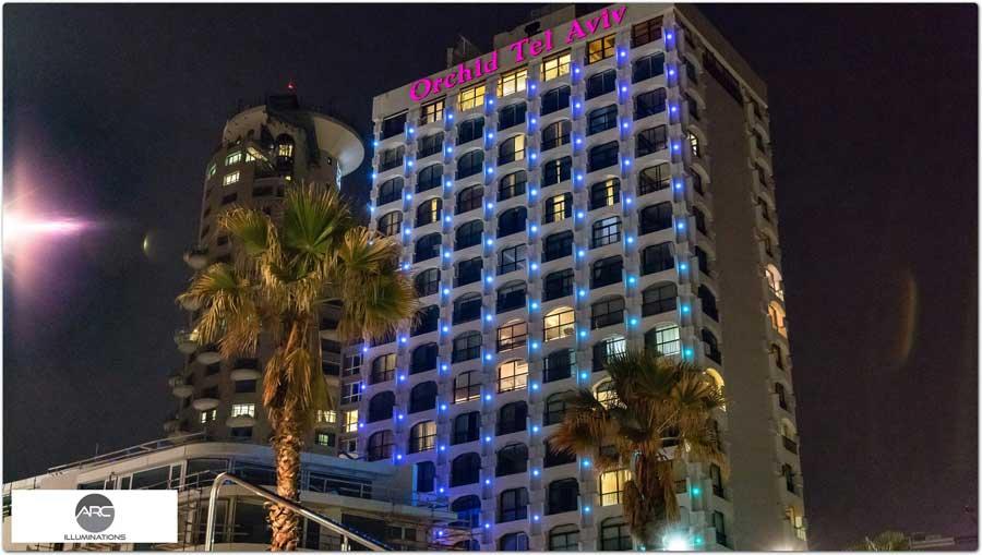 lighting Orchid Hotel TLV (4)