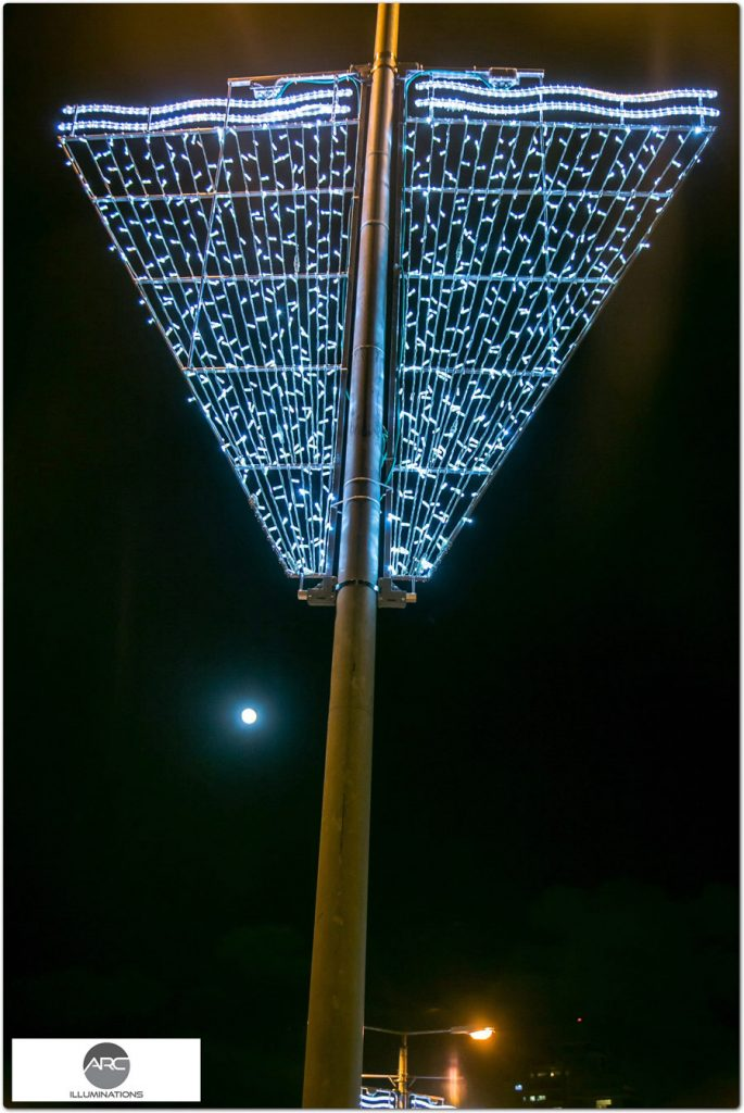 REHOVOT – LIGHTING DECORATIONS