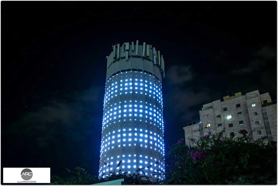water tower lighting pixel led )11( (1)