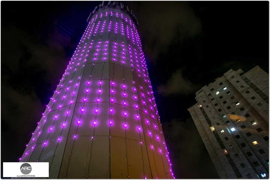 water tower lighting pixel led )11( (10)