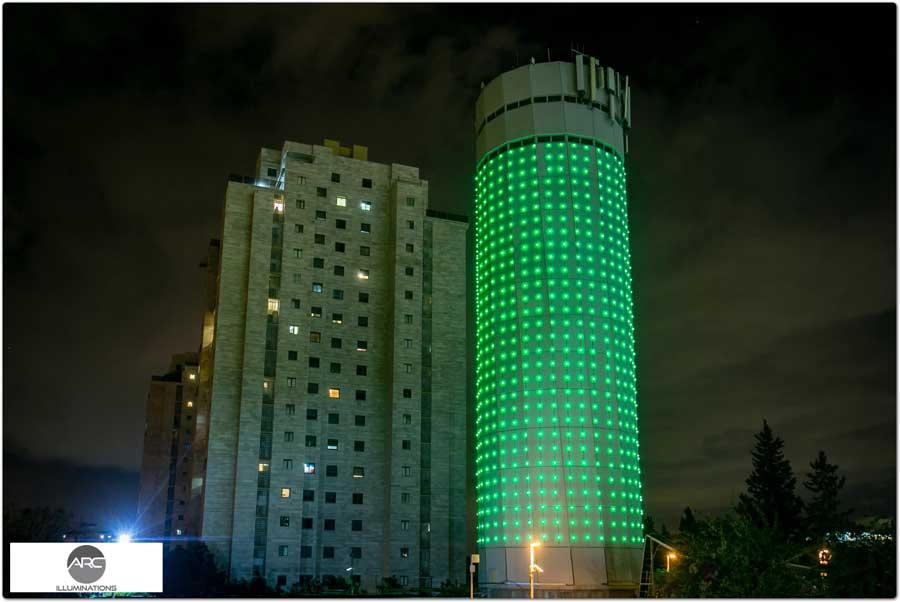 water tower lighting pixel led )11( (12)
