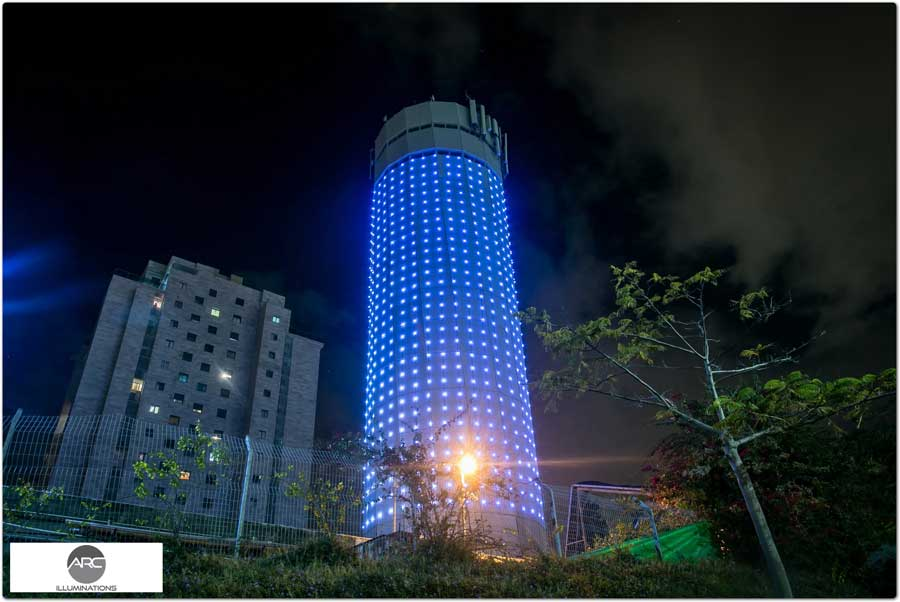 water tower lighting pixel led )11( (2)