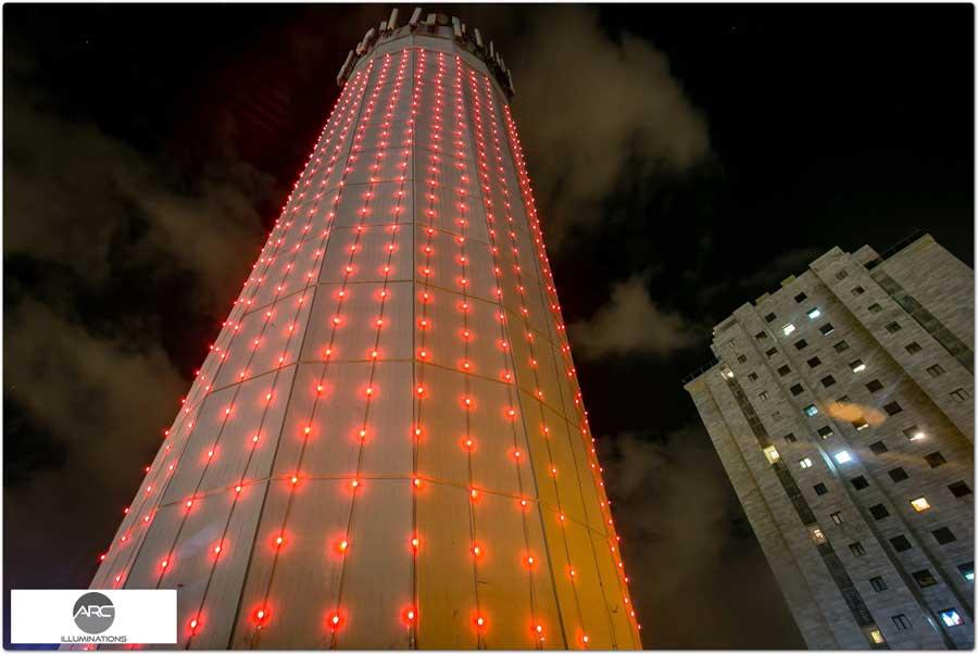 water tower lighting pixel led )11( (9)