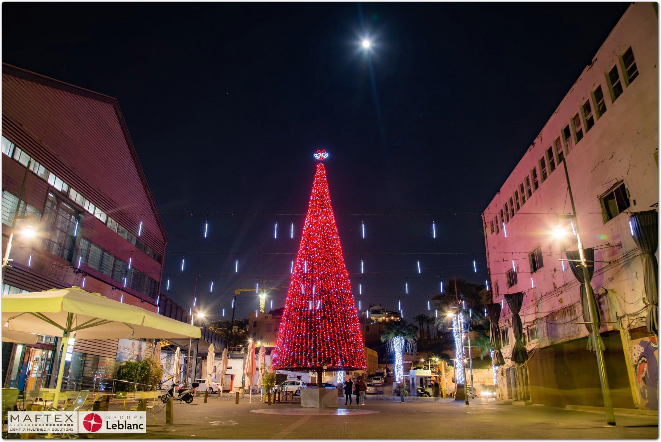 JAFFA Christmas Market Lights (2)