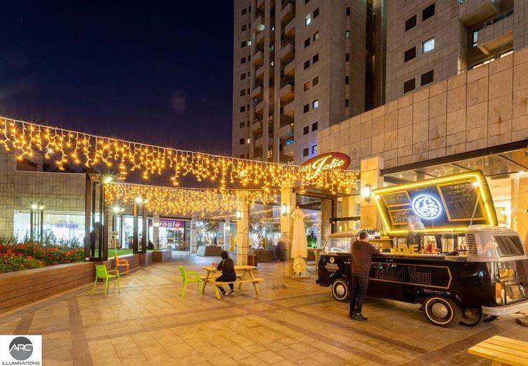 fairy lights mall decor
