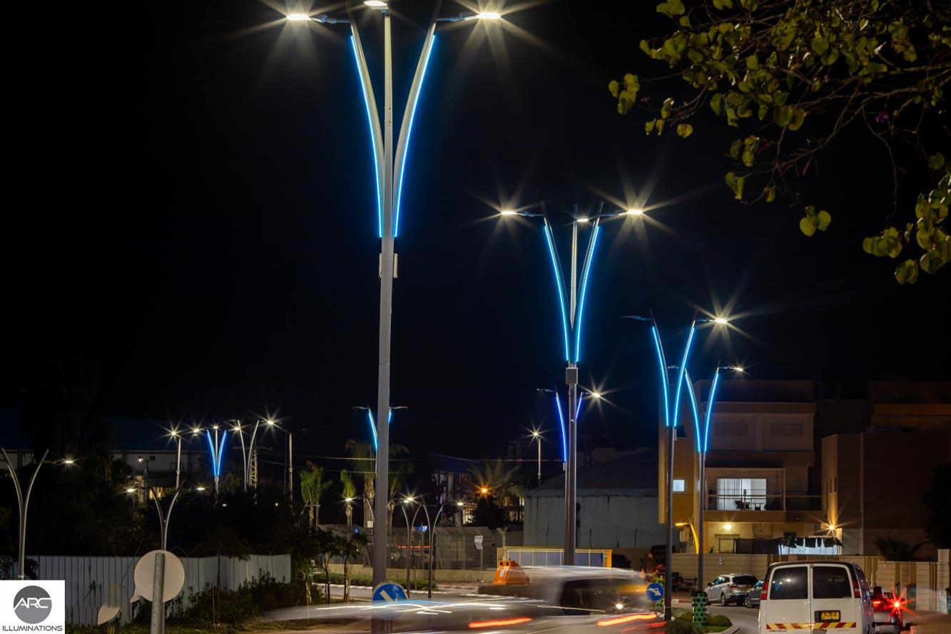decorative pole lighting