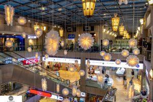 Illuminated lampshades