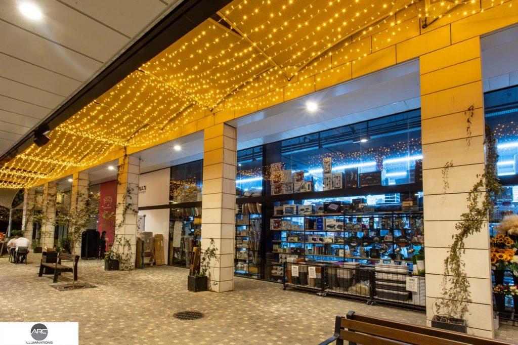 LED ceiling decoration